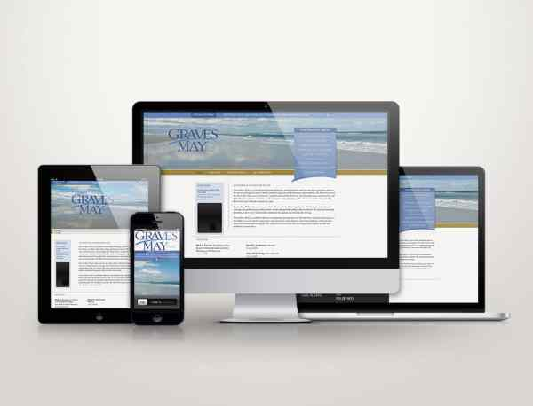 Graves May PLLC - Web Design