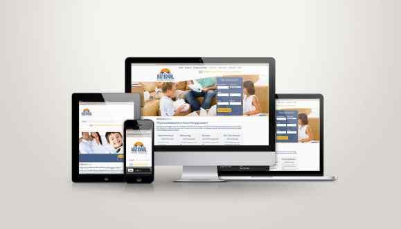 National Home Finance - Web Design