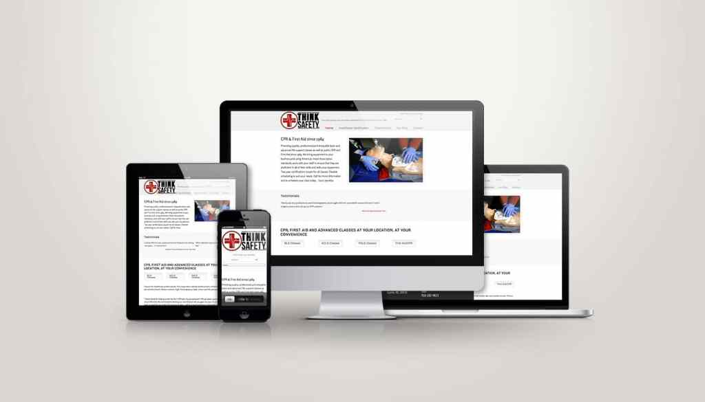 Think Safety LLC - Web Design