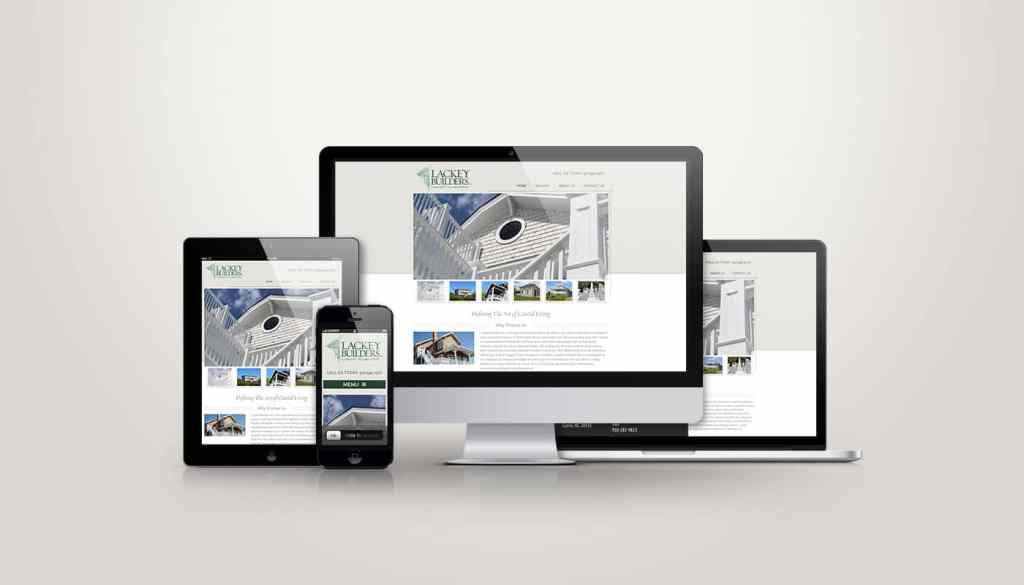Lackey Builders - Web Design