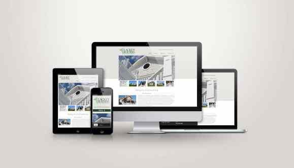 Lackey Builders - Web Design