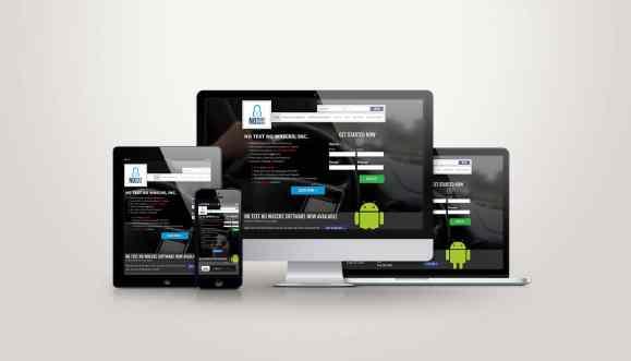 No Text No Wrecks - Web Design