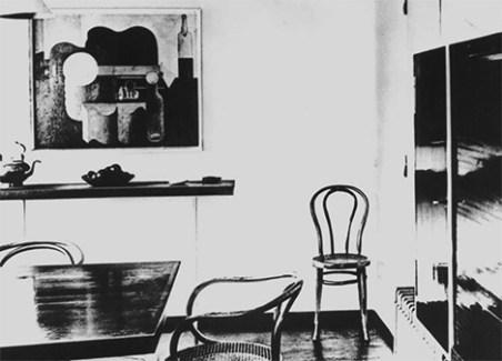 Design Luminy Pavillon-esprit-Nouveau-Le-Corbusier-Thpnet-1925 Chaise Thonet n°14 - 1859 - Michael Thonet (1796-1871) Histoire du design Icônes Références  Thonet n°14 Thonet   Design Marseille Enseignement Luminy Master Licence DNAP+Design DNA+Design DNSEP+Design Beaux-arts
