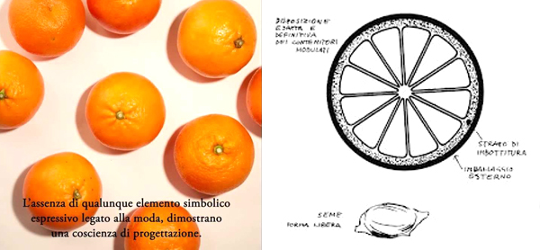 Design Luminy aranciamunari L'orange - Bruno Munari - 1963 Histoire du design Références Textes  l'orange Bruno Munari