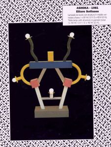 Design Luminy Ashoka-226x300 Ettore Sottsass - Sur la lumière électrique Textes  Lumière Ettore Sottsass   Design Marseille Enseignement Luminy Master Licence DNAP+Design DNA+Design DNSEP+Design Beaux-arts