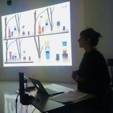 Design Luminy IMG_4562 Nathalie Dewez - Conférence et séance de travail en atelier Intervenants invités Work in progress  Nathalie Dewez Idir Messaoud Cassandre Aurick