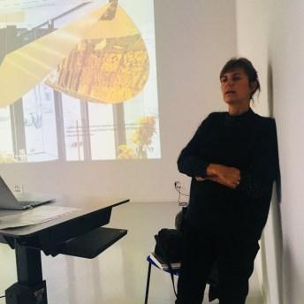 Design Luminy IMG_4594 Nathalie Dewez - Conférence et séance de travail en atelier Intervenants invités Work in progress  Nathalie Dewez Idir Messaoud Cassandre Aurick