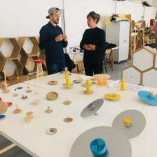 Design Luminy IMG_4597 Nathalie Dewez - Conférence et séance de travail en atelier Intervenants invités Work in progress  Nathalie Dewez Idir Messaoud Cassandre Aurick