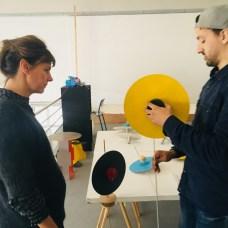Design Luminy IMG_4599 Nathalie Dewez - Conférence et séance de travail en atelier Intervenants invités Work in progress  Nathalie Dewez Idir Messaoud Cassandre Aurick