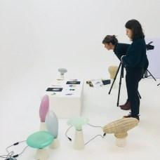 Design Luminy IMG_4601 Nathalie Dewez - Conférence et séance de travail en atelier Intervenants invités Work in progress  Nathalie Dewez Idir Messaoud Cassandre Aurick