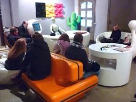 Design Luminy P1060503 Plasticarium - Adam Museum - Bruxelles Histoire du design Références  Plastique Plasticarium Philippe Decelle Bruxelles