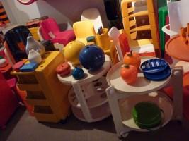Design Luminy P1060515 Plasticarium - Adam Museum - Bruxelles Histoire du design Références  Plastique Plasticarium Philippe Decelle Bruxelles