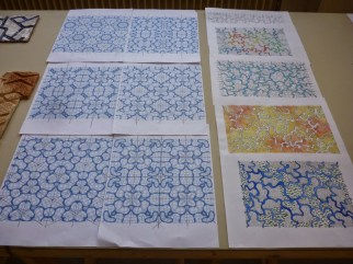 Design Luminy Fathia-Haski-Dnsep-12 Fathia Haski - Dnsep 2013 Archives Diplômes Dnsep 2013  motif Fathia Haski céramique carrelage