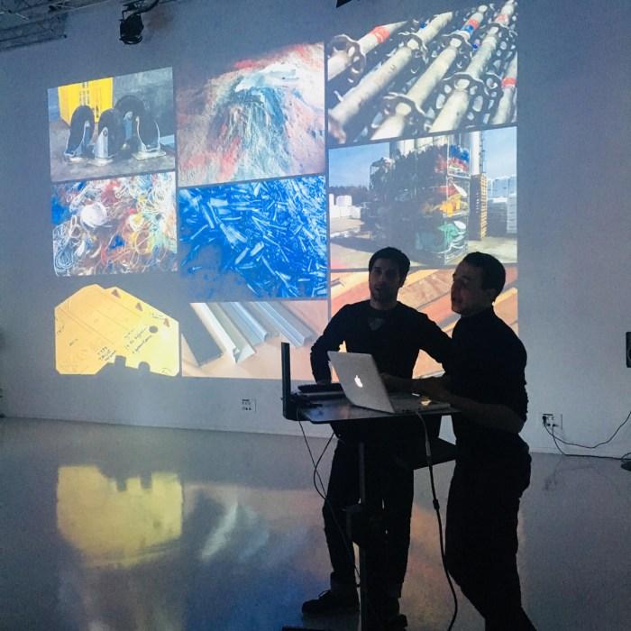 Design Luminy IMG_5070 Conférence de MAXIMUM Intervenants invités Work in progress  recyclage Maximum déchet Conférence