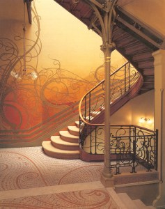 Design Luminy Hotel-Tassel-1893-Victor-Horta-1861-1947- Hotel Tassel 1893 Victor Horta 1861-1947