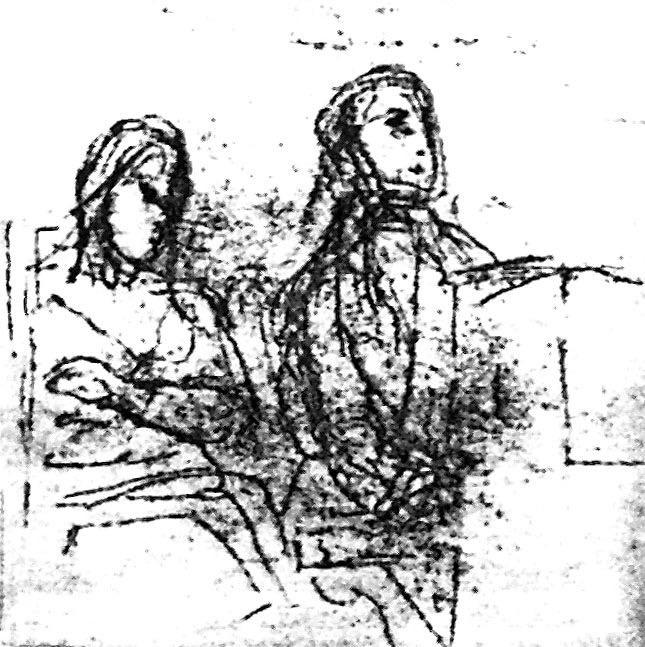 Design Luminy Portrait-de-Chopin-et-Sand-esquisse-1838 Lettre d'Aurore Dupin, dite George Sand (1804 – 1876) à Alfred de Musset (1810 – 1857. Histoire du design Références Textes  Romantisme Rhétorique   Design Marseille Enseignement Luminy Master Licence DNAP+Design DNA+Design DNSEP+Design Beaux-arts