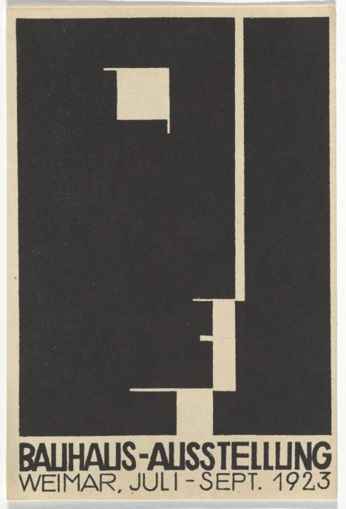 Design Luminy cri_000000322124 Oskar Schlemmer – Manifeste de la première exposition du Bauhaus – 1923 Histoire du design Références Textes  Oskar Schlemmer Bauhaus