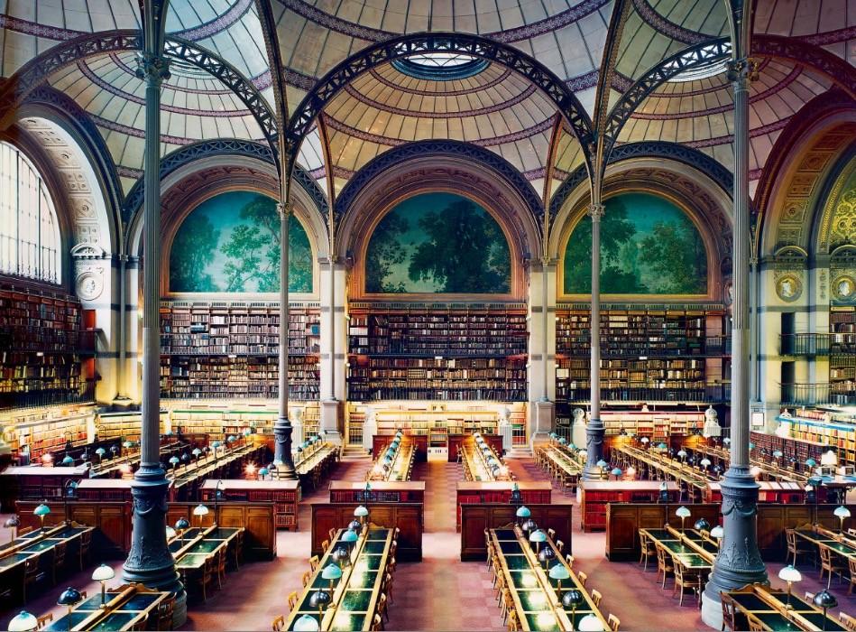 Design Luminy Bibliotheque-Sainte-Genevieve-1851-Henri-Labrouste-1801-1875-2 Bibliographie - Histoire et Théorie du Design Bibliographie Histoire du design Références