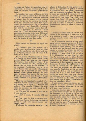 Design Luminy Conférence-22Les-raisons-de-larchitecture-moderne-dans-tous-les-pays22-1er-décembre-1926-12-1 Robert Mallet-Stevens – Les raisons de l'architecture moderne dans tous les pays (conférence) Histoire du design Références Textes  Robert Mallet-Stevens