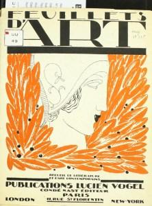 Design Luminy Feuillet-arts-1-222x300 Les laques de Miss Eileen Gray - Elisabeth de Clermont-Tonnerre Histoire du design Références Textes  Eileen Gray