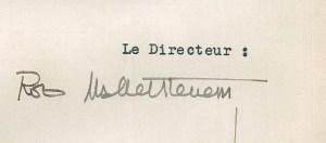 Design Luminy Signature-Rob-300x132 Robert Mallet-Stevens – Note concernant quelques modifications à apporter à l'enseignement de l'École des Beaux-Arts de Lille (1935) Histoire du design Références Textes  Robert Mallet-Stevens pédagogie enseignement