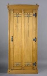 Design Luminy Armoire-Silex-1905 Gustave Serrurier-Bovy (1858-1910) – Mobilier Silex Histoire du design Icônes Références  Silex Gustave Serrurier-Bovy Art Nouveau