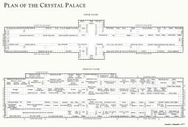 Design Luminy Crystal_Palace_-_plan Crystal Palace 1851 - Joseph Paxton (1803-1865) Histoire du design Icônes Références  Owen Jones Joseph Paxton Henry Cole Exposition universelle Crystal Palace