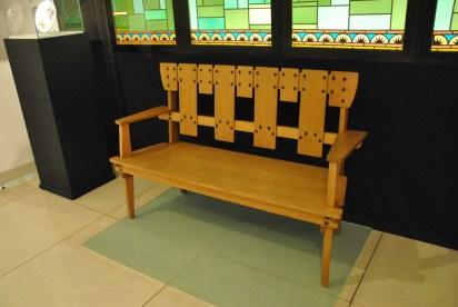 Design Luminy Serrurier-Bovy-Banc Gustave Serrurier-Bovy (1858-1910) – Mobilier Silex Histoire du design Icônes Références  Silex Gustave Serrurier-Bovy Art Nouveau