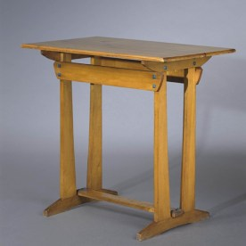Design Luminy Table-Silex-1905 Gustave Serrurier-Bovy (1858-1910) – Mobilier Silex Histoire du design Icônes Références  Silex Gustave Serrurier-Bovy Art Nouveau