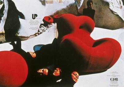 Design Luminy Up-Gaetano-Pesce-1969-17 Donna 1939 – Gaetano Pesce (1939-) Histoire du design Icônes Références  Up Pop Gaetano Pesce
