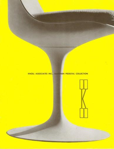 Design Luminy chaise-tulipe-saarinen-publicite4_21460002548_o Chaise Tulipe 1956 – Eero Saarinen (1910-1961) Histoire du design Icônes Références  Tulipe Knoll Eero Saarinen