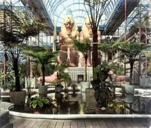 Design Luminy crystal-palace-sydenham-interior-egypt-statue Crystal Palace 1851 - Joseph Paxton (1803-1865) Histoire du design Icônes Références  Owen Jones Joseph Paxton Henry Cole Exposition universelle Crystal Palace