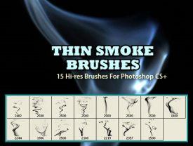 Thin Smoke Brushes