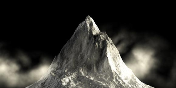3D Mountain in 3ds Max
