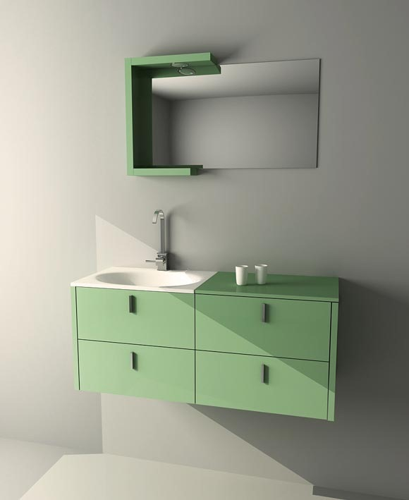 How to model bathroom Furniture