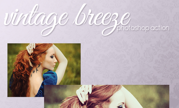vintage adobe photoshop actions website download freebie