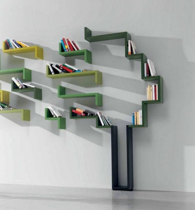 etagere murale design en 33 modeles