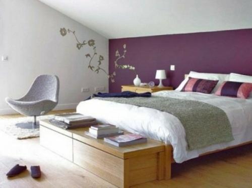 La Chambre Coucher Violet Sans Tristesse