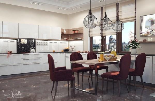 Appartement Luxe Ultra Moderne Kiev En Ukraine