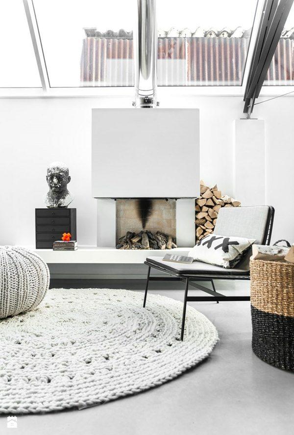 tapis blanc pour une maison harmonieuse