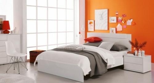 la chambre a coucher orange en 42 exemples