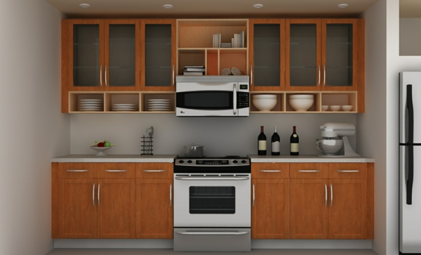 Kitchen Interior Wall Design
