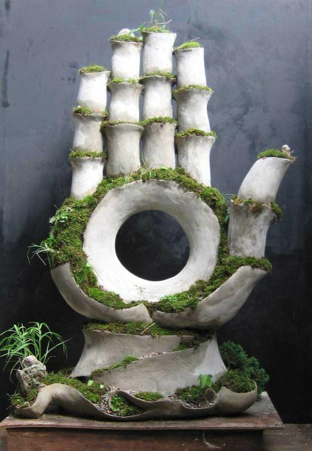 Statues De Jardin Vivantes Entre L Art Et La Botanique