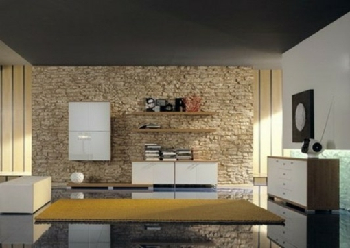 Le Mur De Pierre Intrieur 25 Ides De Design Original