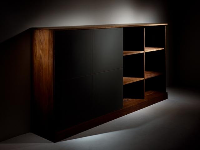 Meuble TV Design En Bois Trs Simple Et Pratique
