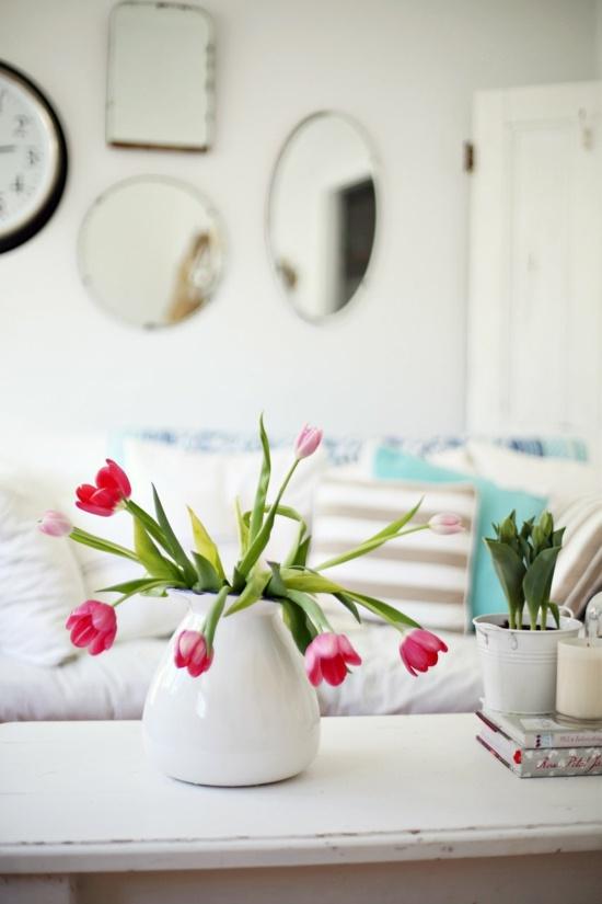 deco salon tulips