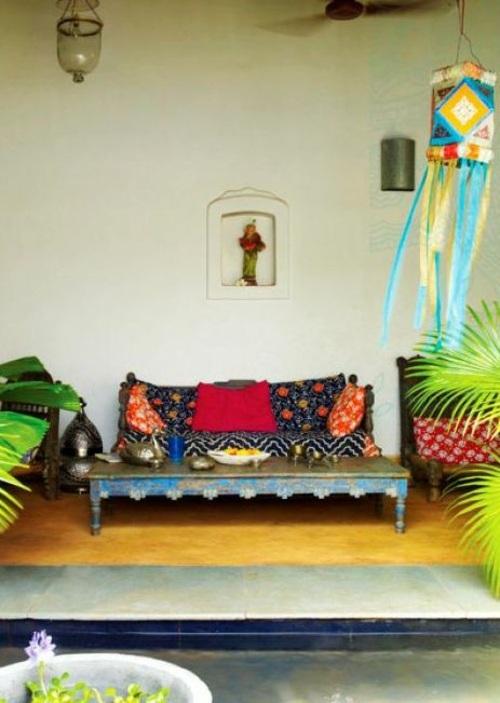 Le Style Boho Chic Une Dco Joyeuse Pour La Terrasse
