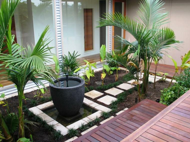 petit jardin moderne visite d oasis