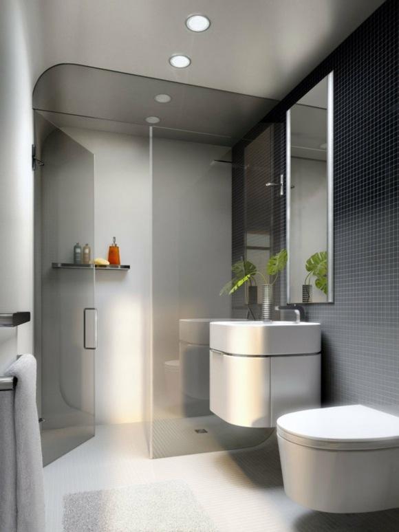 Salle De Bain Design Petit Espace Quelques Exemples