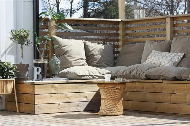 Outdoor bench seating ideas. cedar bench seating ideas pictures ...